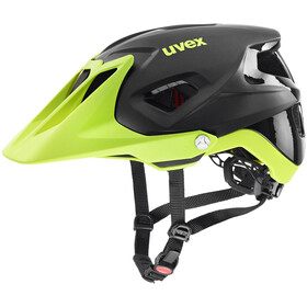 UVEX Quatro Integrale Casco, black lime mat